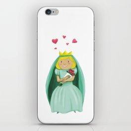 George&Princess&Dragn iPhone Skin
