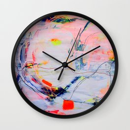 Abstract Art- 99 Wall Clock