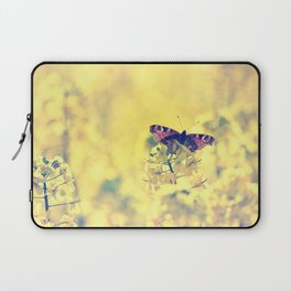 Sunshine and Butterflies Laptop Sleeve