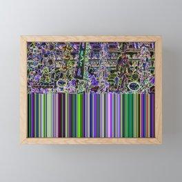Modern Fairground Framed Mini Art Print