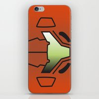 metroid iPhone & iPod Skins featuring Metroid Samus by JAGraphic