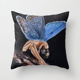Plebejus Throw Pillow