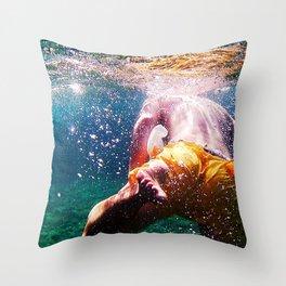 Into The Deep Throw Pillow