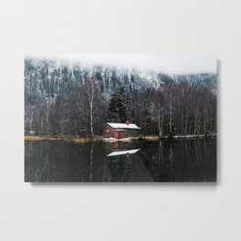 The silence of nature Metal Print