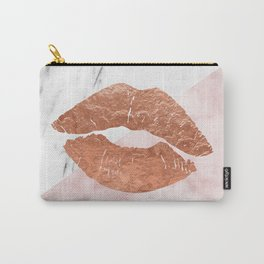 Kiss me marble Carry-All Pouch