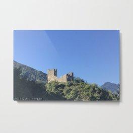 Castel of Miglos Metal Print