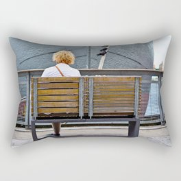 Waiting for Adventure Rectangular Pillow