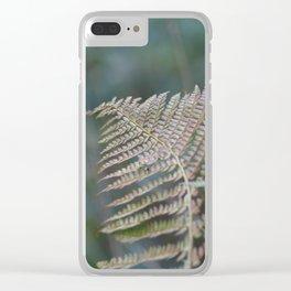 Fern Leaf Clear iPhone Case