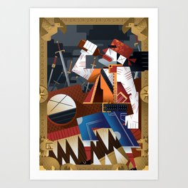 Calico Jack Art Print