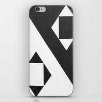 ying yang iPhone & iPod Skins featuring Ying & Yang by Guilherme Poletti