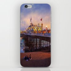 Brighton Pier Twilight iPhone & iPod Skin