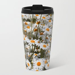 A Field of Oxeye Daisies Travel Mug