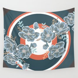 Floral Escape Wall Tapestry