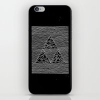 joy division iPhone & iPod Skins featuring Triforce // Joy Division by Daniel Mackey