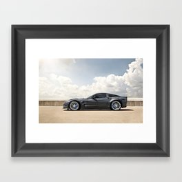 Corvette ZR1 Framed Art Print
