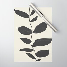 minimal plant Wrapping Paper
