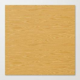 Oak Wood Texture Canvas Print