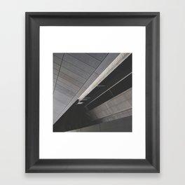 Footpath below Framed Art Print