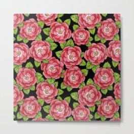 Alpen Rose Metal Print