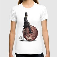 ariana grande T-shirts featuring Penny Farthing  by Eric Fan