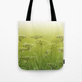 Wild flowers and weeds. Tote Bag