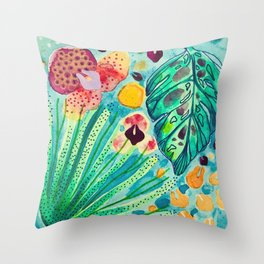 Vintage Samba No.2 Throw Pillow
