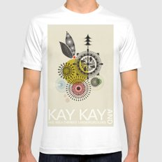 Kay Kay and His Weathered Underground X-LARGE White Mens Fitted Tee
