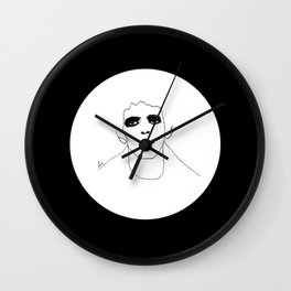 Lou Reed B & W Wall Clock