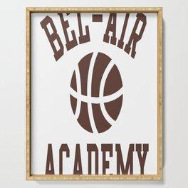 Fresh Prince Bel-Air Academy Basketball Shirt Serving Tray