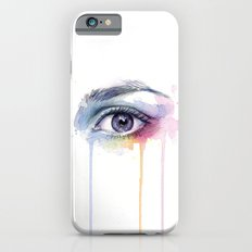 Colorful Eye Dripping Rainbow Slim Case iPhone 6s