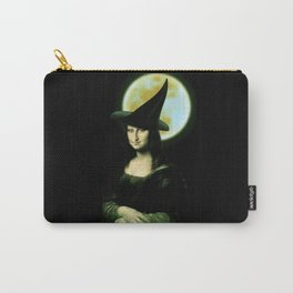 Mona Lisa Witchy Woman Carry-All Pouch