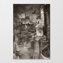 Fantasy Cityscape Canvas Print