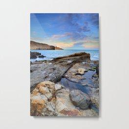 """Volcanic sea"". Cabo de Gata. Metal Print"