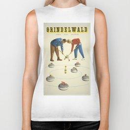 Vintage poster - Grindelwald Biker Tank