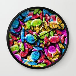 Candy Galore Wall Clock