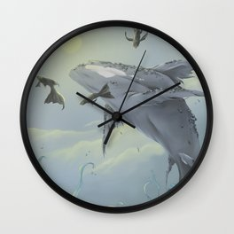 Celestial Travellers  Wall Clock