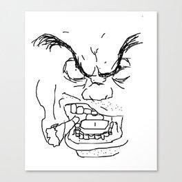 Screamin' Smokin' Sarge Canvas Print