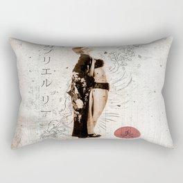 Geisha Beauty Rectangular Pillow