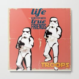 Troops Metal Print