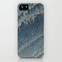 martian-made crater ripples | space #15 iPhone Case