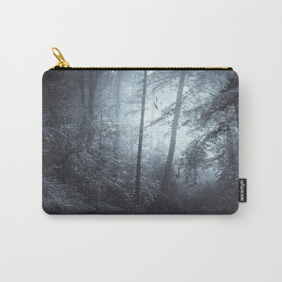 Blue Mystic ForesT Carry-All Pouch
