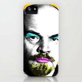 Ooh Mr Lenin - Orange iPhone Case