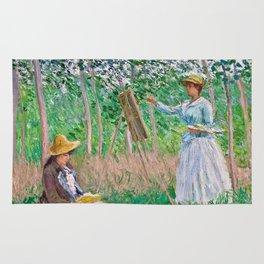 Claude Monet - In The Woods Rug