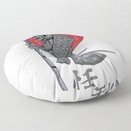 Japanese Samurai Warrior Floor Pillow