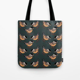 Forest Bird Pattern  Tote Bag