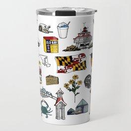 Maryland Flash Sheet - Color Travel Mug