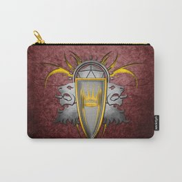 D20 Master of Dungeons and Dragons Red Carry-All Pouch