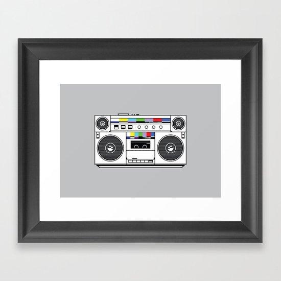 1 kHz #4 Framed Art Print