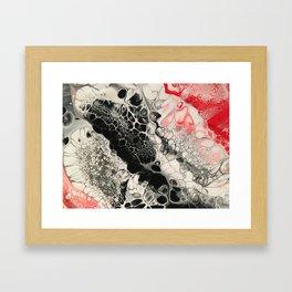Black Cells Framed Art Print