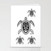 tortoise Stationery Cards featuring Tortoise by ceceï